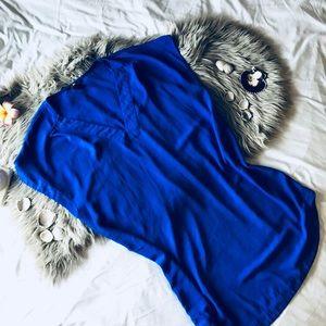Vibrant blue h&m dress